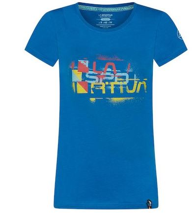La Sportiva Shirt Square blau