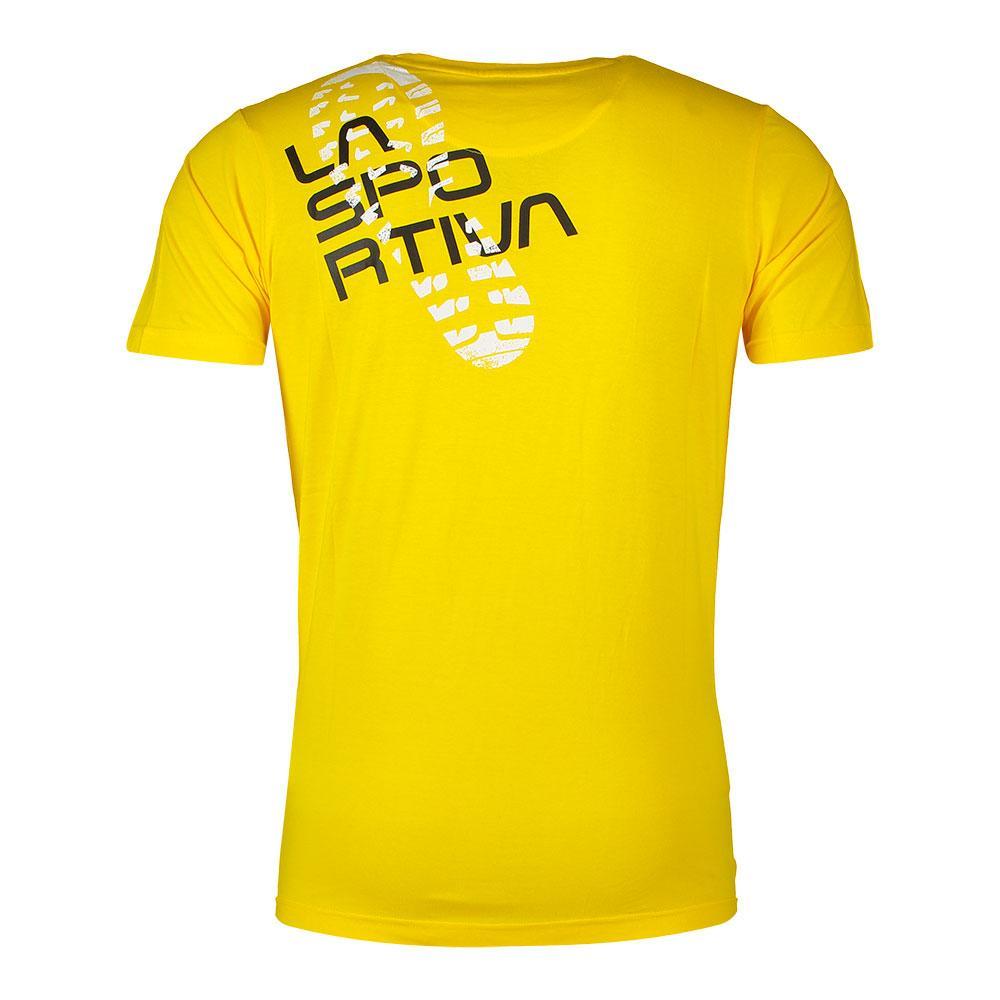 La Sportiva Footstep Shirt gelb
