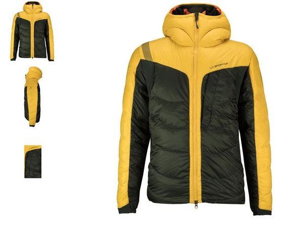La Sportiva Cham 2.0 Daunenjacke schwarz gelb