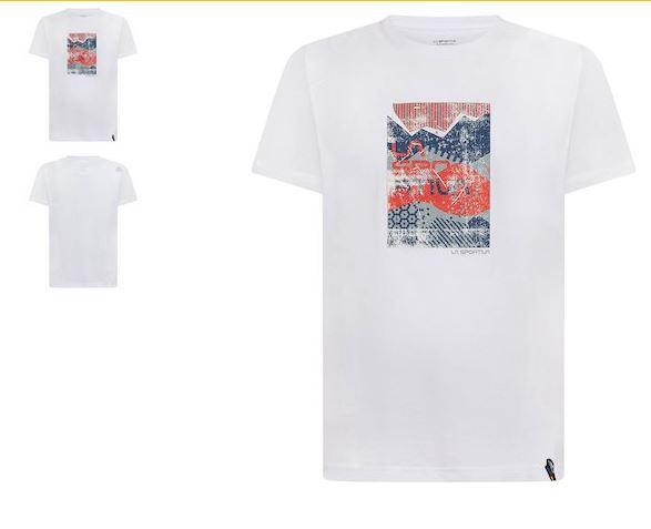 La Sportiva Shirt Patch weiß