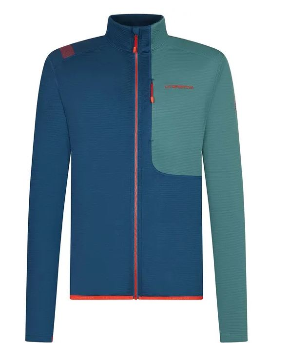 La Sportiva Chill Jacke blau  grün