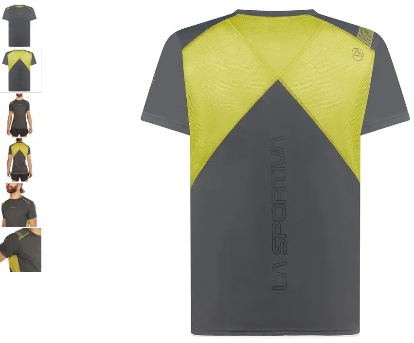 La Sportiva Funktionsshirt Blitz carbon/kiwi