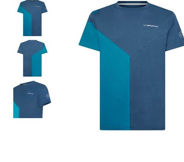 La Sportiva Shirt Dru opal /blau