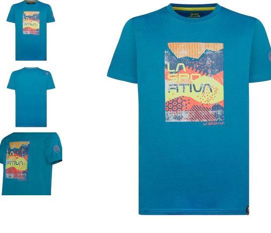 La Sportiva Shirt Patch neptune