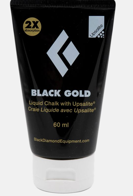 Black Diamond Liquid Chalk black Gold