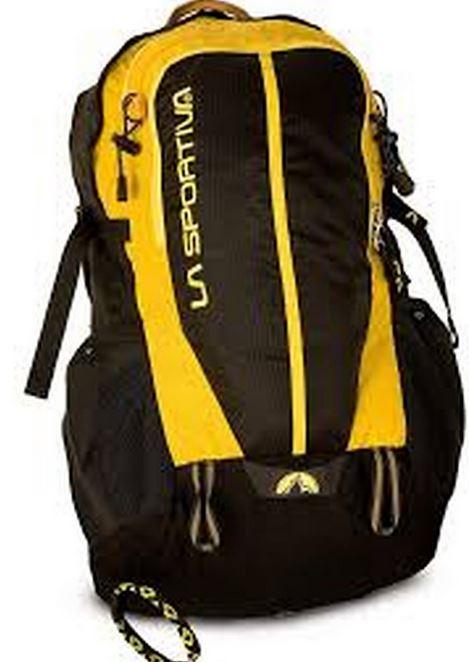La Sportiva Rucksack black gelb