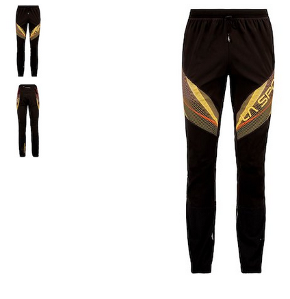 La Sportiva Tourenhose schwarz gelb