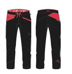 La Sportiva Hose schwarz hibiscus