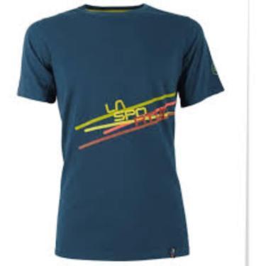 La Sportiva Shirt Stripe opal