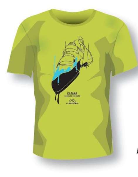 La Sportiva Shirt Katana grün