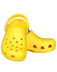 Crocs gelb