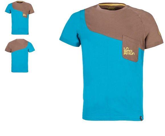 La Sportiva Shirt Climb blau/grau