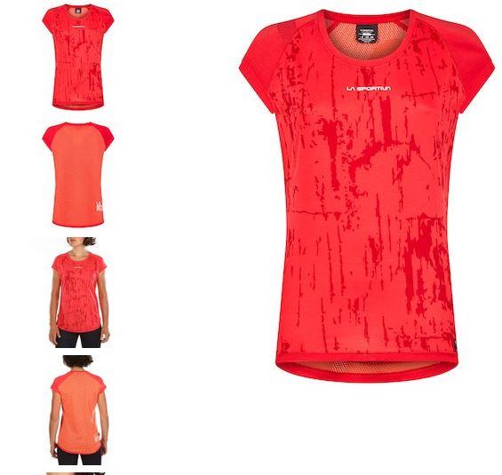 La Sportiva Funktionsshirt Core hibiscus