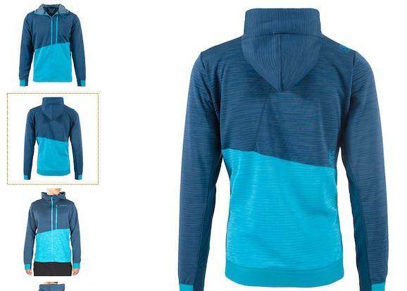 La Sportiva Jacke blau opal