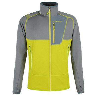 La Sportiva Orbit Jacke grau/gelb