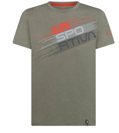 La Sportiva Shirt Stripe Evo clay