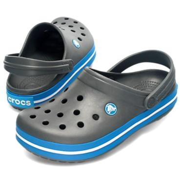 Crocs Crocband grau/blau