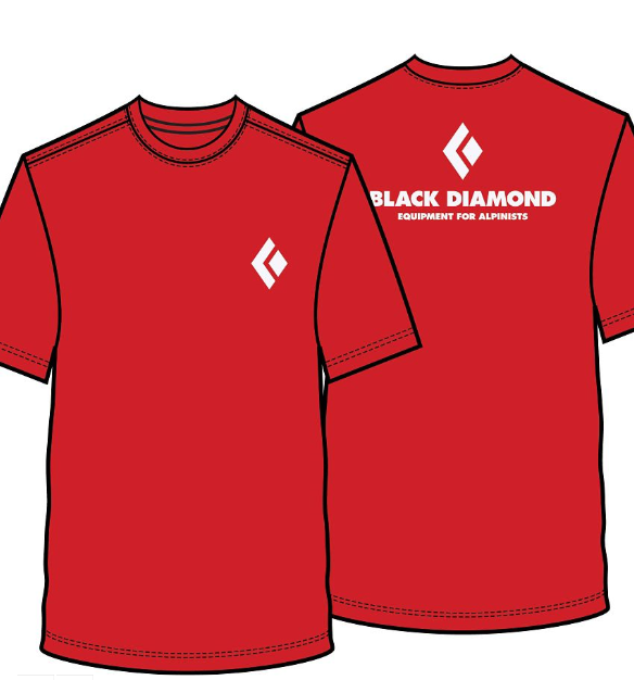 Black Diamond Alpin Shirt rot