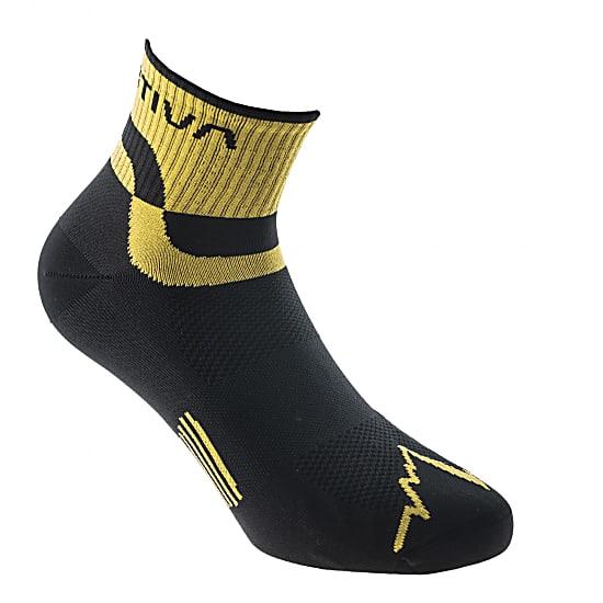 La Sportiva Socken Trail schwarz / gelb