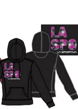 La Sportiva Hoody Laspo schwarz