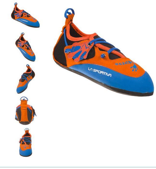 La Sportiva Kinder Kletterschuhe Stickit rot