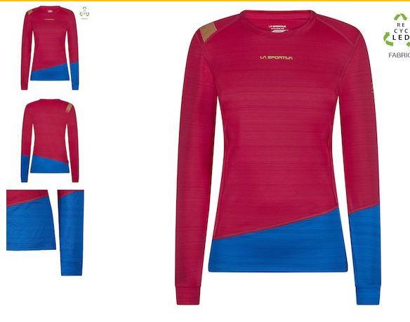 La Sportiva Funktionsshirt blau pink