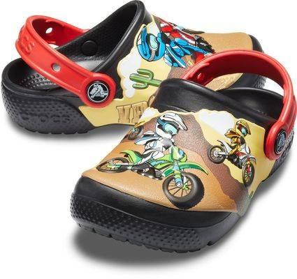 Crocs Motocross Motorrad