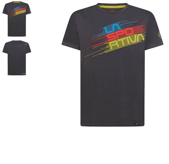 La Sportiva Shirt Stripe Evo carbon