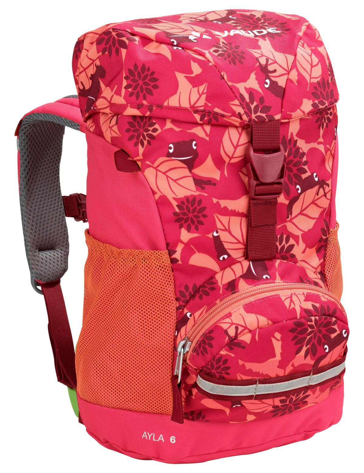 Vaude Kinderrucksack Ayla pink Muster