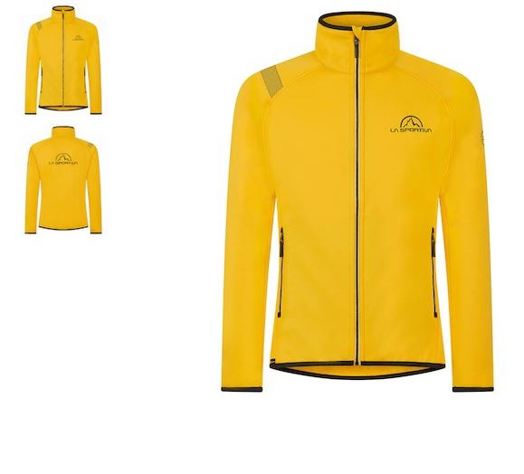 La Sportiva Jacke gelb