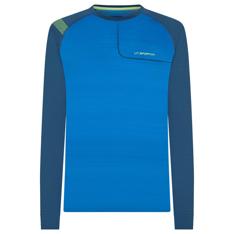 La Sportiva Funktionsshirt lang opal blau