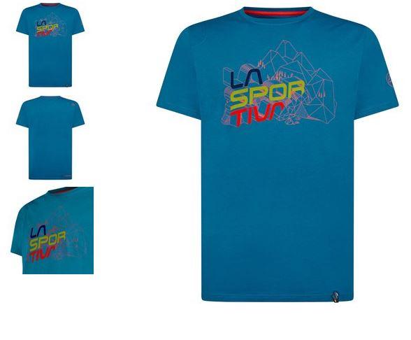 La Sportiva Shirt Cubic neptune