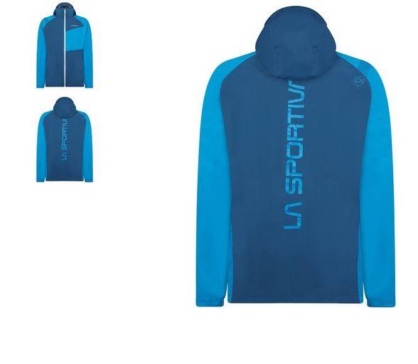 La Sportiva Run Jacke blau