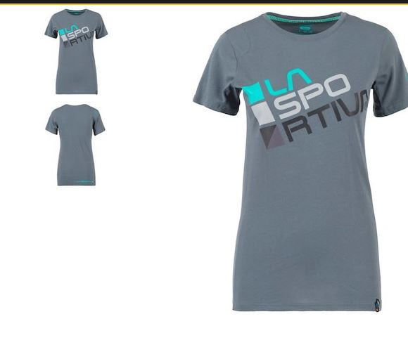La Sportiva Shirt Square slate