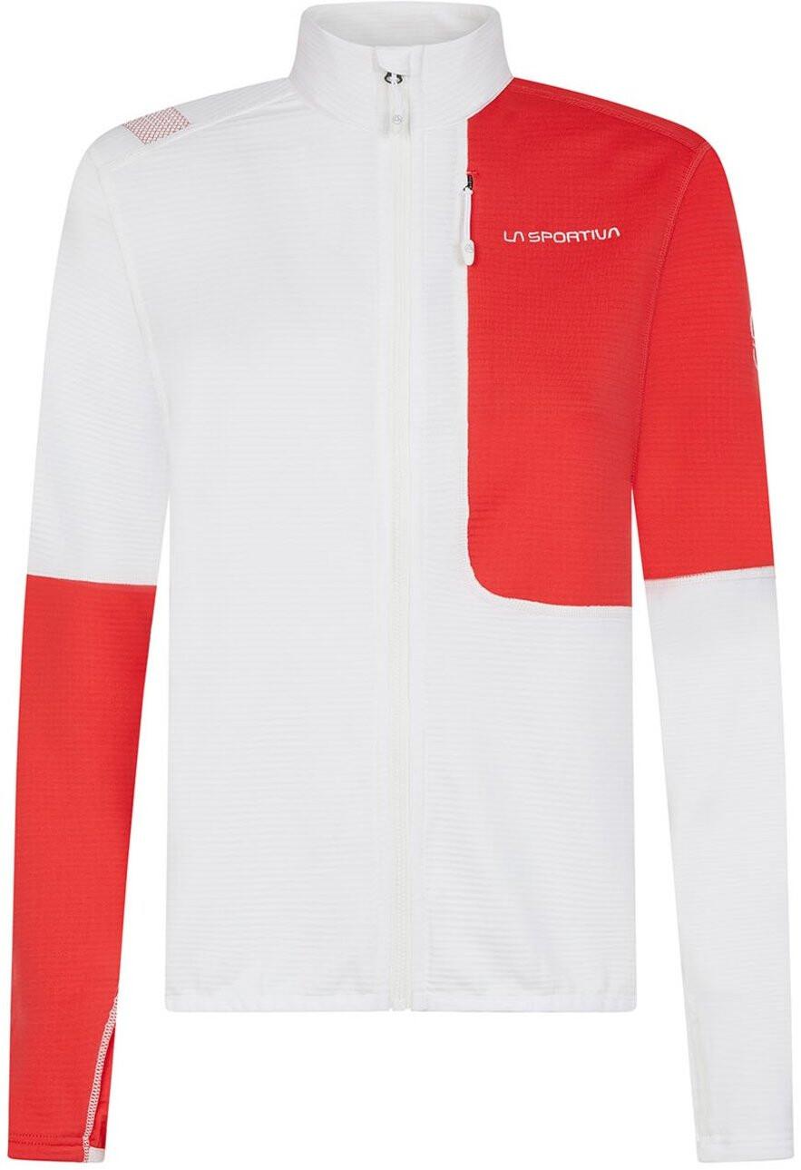 La Sportiva Jacke Vibe weiß rot