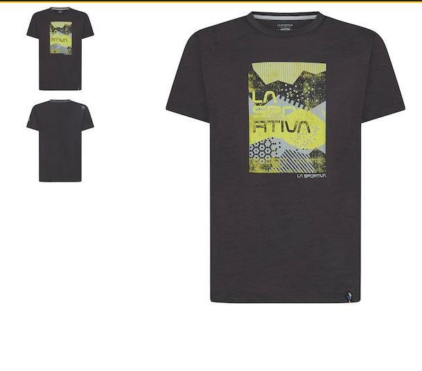 La Sportiva Shirt Patch carbon
