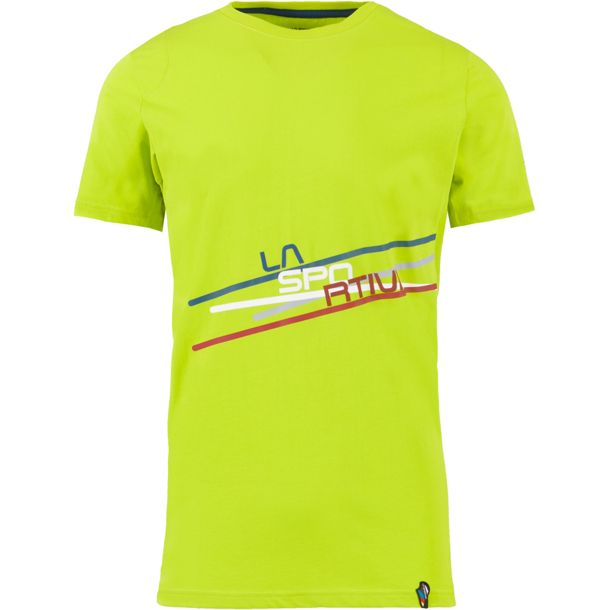 La Sportiva Shirt Stripe grün