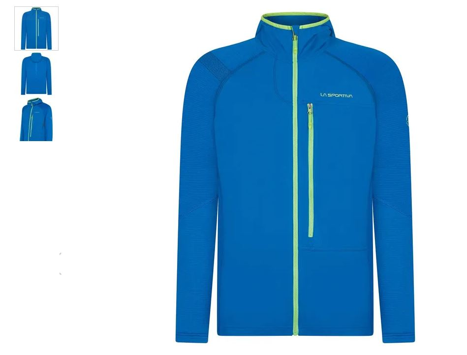La Sportiva Defender Jacke blau