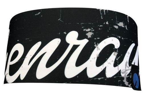 Höhenrausch Headband black Letter