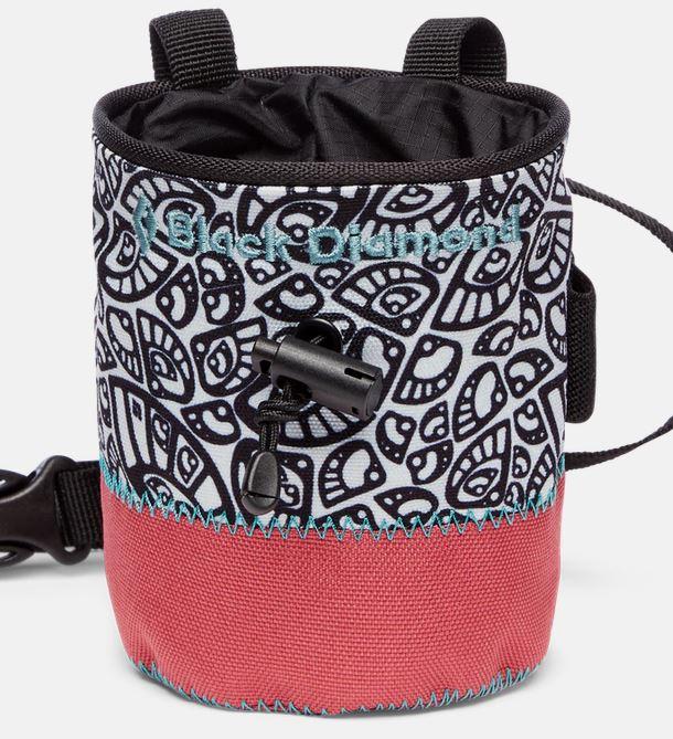 Black Diamond Chalk Bag Kinder wildrose