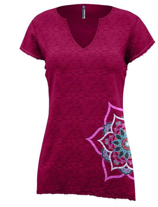 Crazy Damen Shirt Mandala