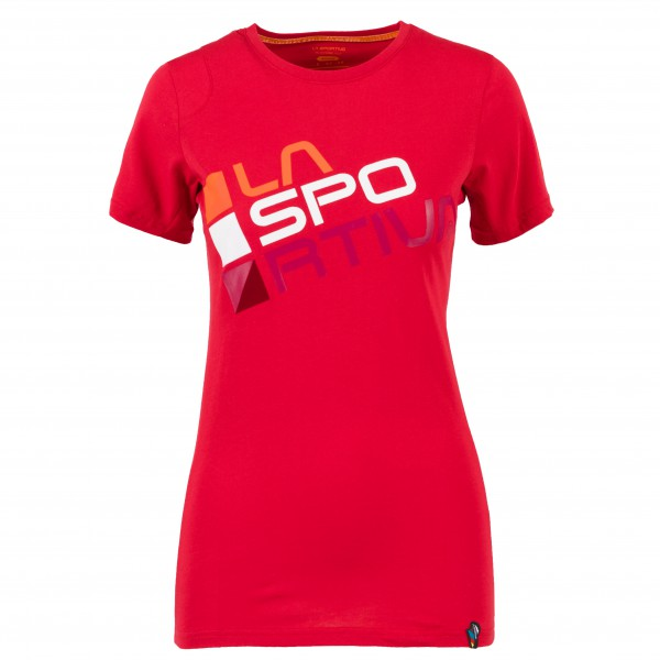 La Sportiva Shirt Square garnet