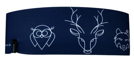 Höhenrausch Stirnband Headband Kinder - blau