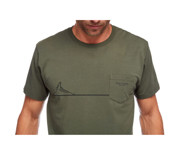 Black Diamond Tower Shirt grün