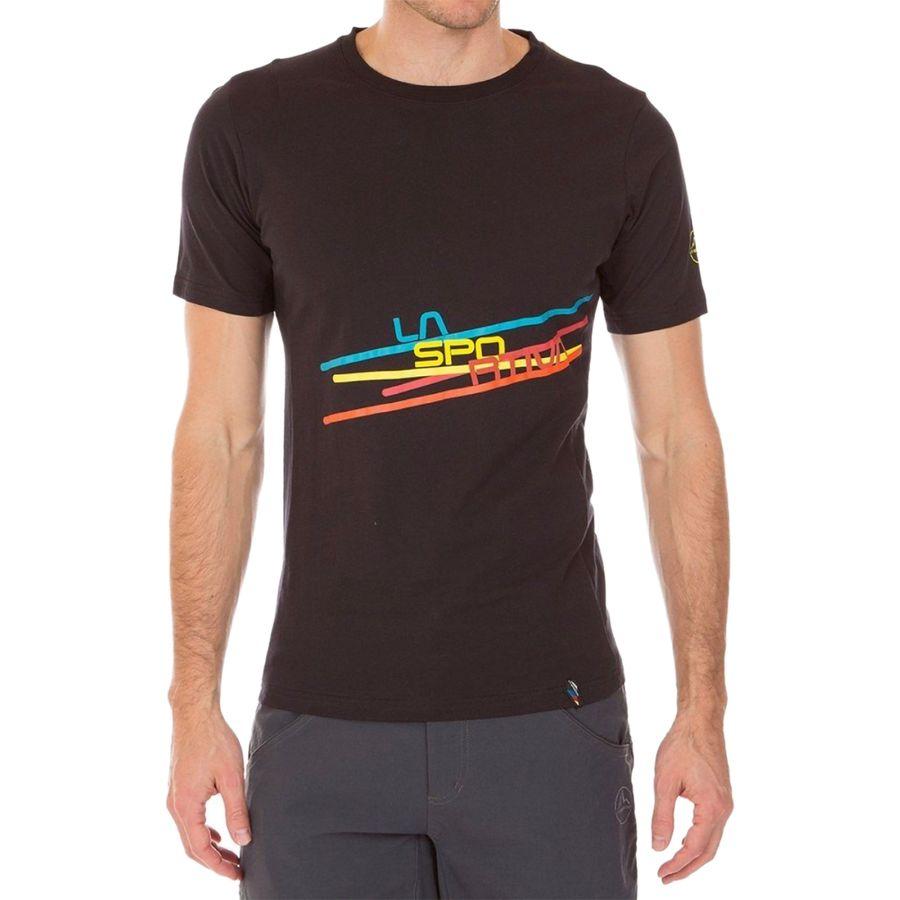 La Sportiva Shirt Stripe carbon