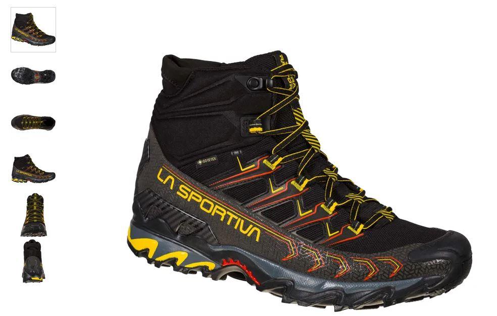 La Sportiva Ultra Raptor Mid II GTX schwarz gelb