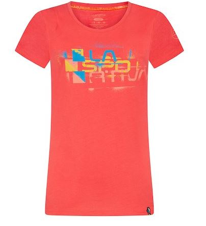 La Sportiva Shirt Square hibiscus
