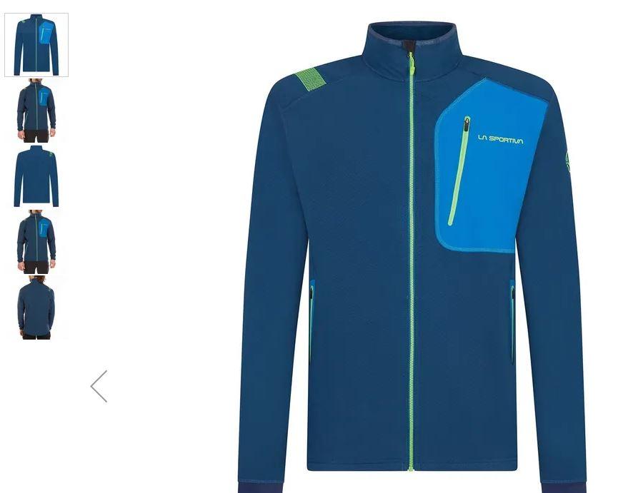 La Sportiva Jacke Mantis blau