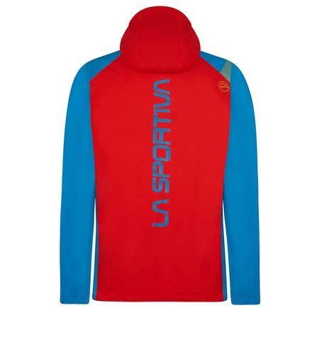 La Sportiva Run Jacke blau rot