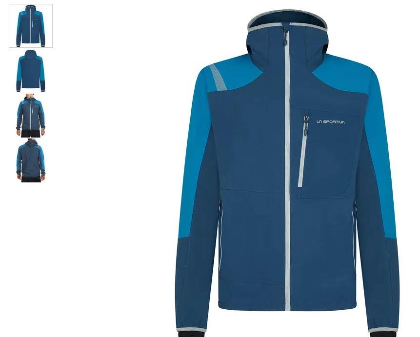 La Sportiva Jacke Alb blau